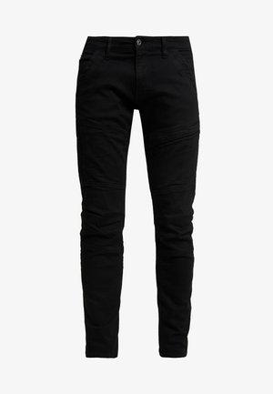 RACKAM 3D SKINNY - Skinny džíny - elto nero black