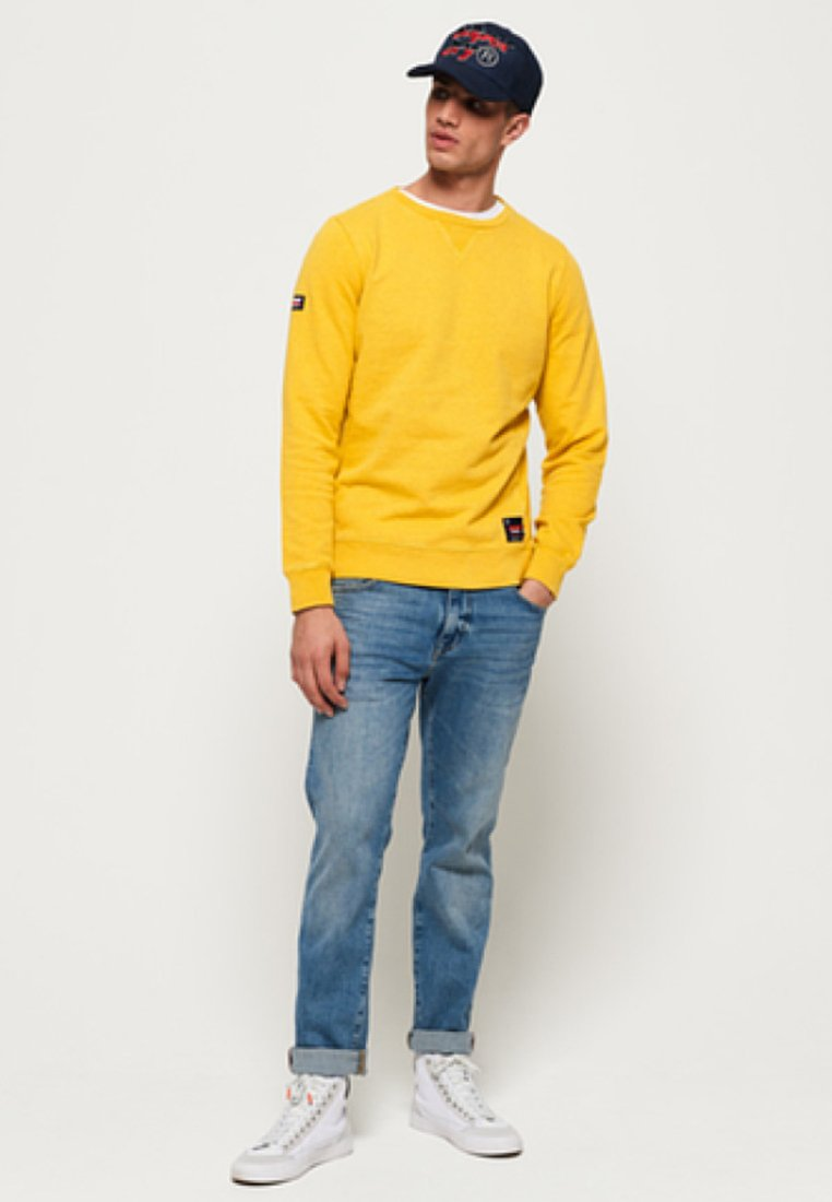 Superdry Sweatshirt - yellow