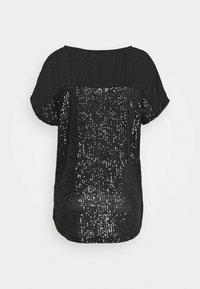 Wallis - SEQUIN TEE - Print T-shirt - black - 1