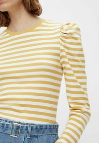Pieces - PCANNA - Long sleeved top - ochre - 3