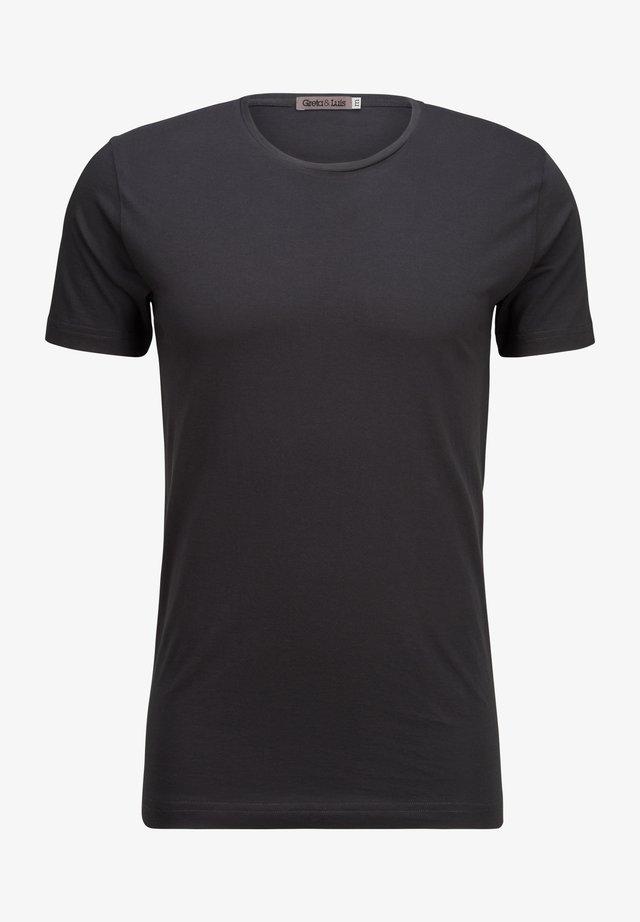 EGON - Basic T-shirt - black