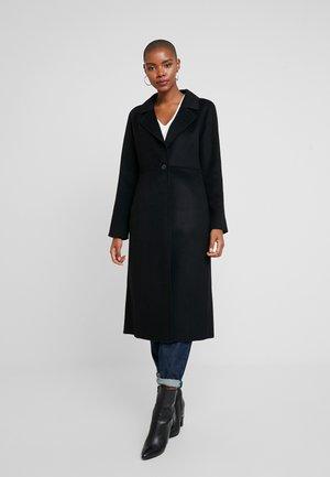 I DOUBLE FACE LONG - Płaszcz wełniany /Płaszcz klasyczny - black