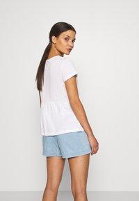 Anna Field Petite - Basic T-shirt - white - 2