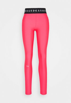 LEGGING BRANDED - Tights - cerise