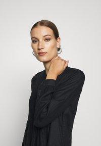Benetton - DRESS - Skjortekjole - black - 3