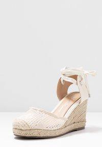 Lulipa London - LORENA - Sandály na vysokém podpatku - cream - 4