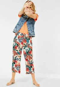 Cecil - LOOSE FIT - Trousers - weiß - 1