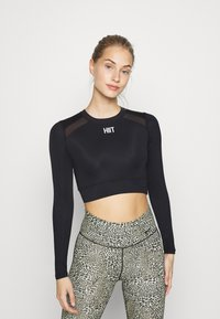 HIIT - TEE - Long sleeved top - black - 0