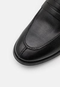 Geox - REZZONICO - Scarpe senza lacci - black - 5