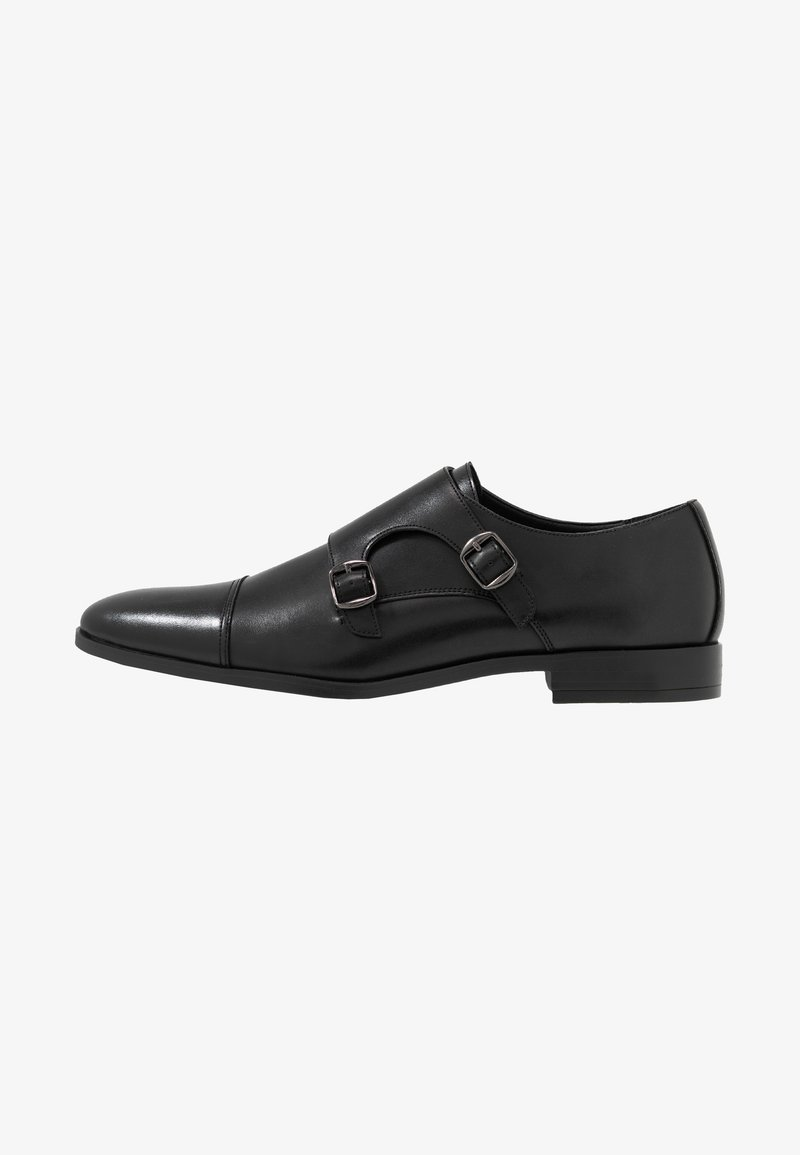 Pier One - Smart slip-ons - black