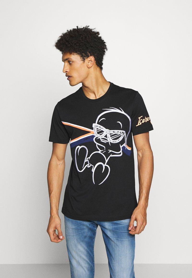 Iceberg - OVERSIZE TWEETIE - Print T-shirt - nero