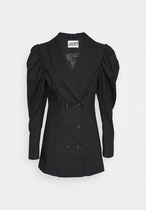 ELSI DRESS - Skjortekjole - black
