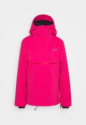 IRIS INSULATED ANORAK - Snowboard jacket - rubine red
