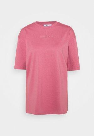 T-shirt basique - trace maroon