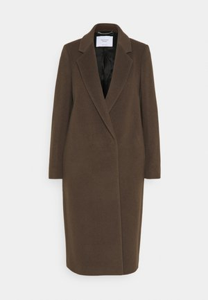 TAILORED COAT - Classic coat - mocca brown