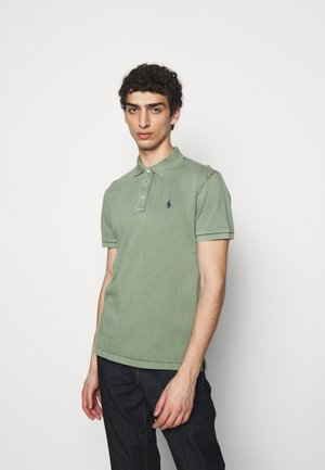 SPA TERRY - Polo - cargo green