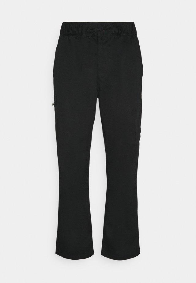Pantalones cargo - black