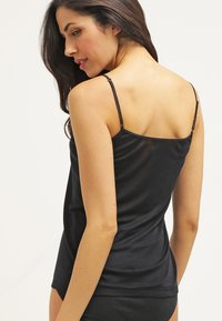 Hanro - PURE SILK - Undershirt - black - 2