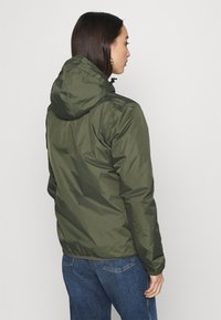 K-Way - UNISEX LE VRAI CLAUDE WARM - Waterproof jacket - black torba - 2