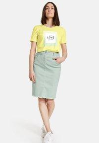Gerry Weber - Pencil skirt - aqua grey - 1