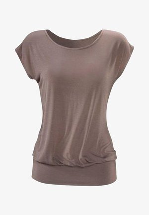 Basic T-shirt - taupe