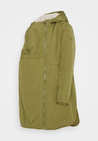 Esprit Maternity - JACKET 3 WAY USE - Winter coat - khaki green - 0