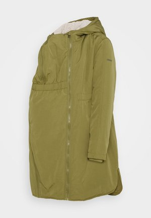 JACKET 3 WAY USE - Zimní kabát - khaki green