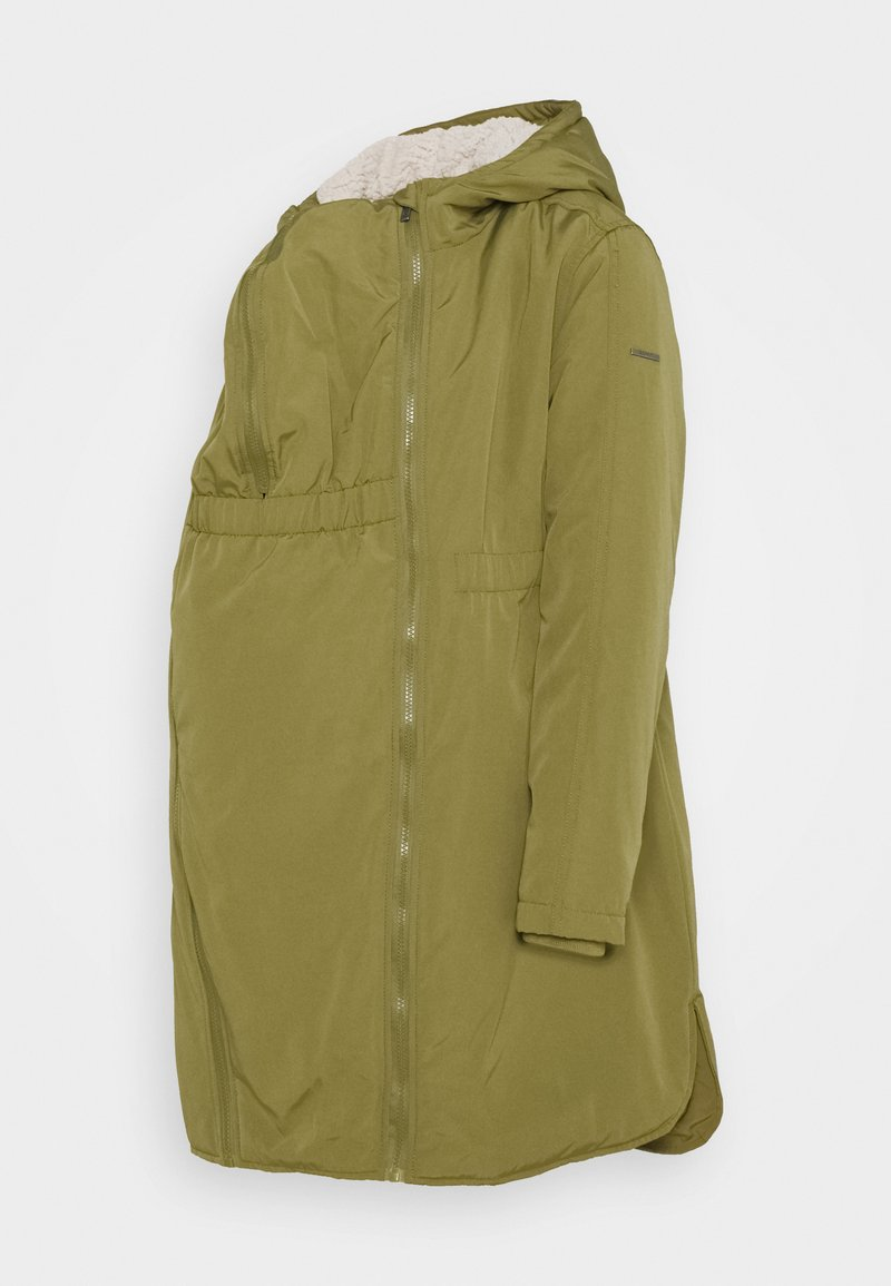 Esprit Maternity - JACKET 3 WAY USE - Winter coat - khaki green