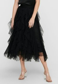 ONLY - A-line skirt - black - 2