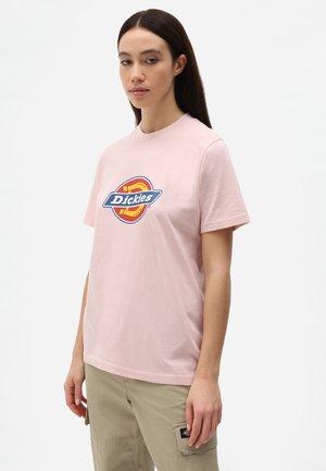 ICON LOGO TEE W - T-shirts print - light pink