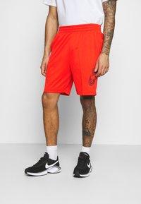 Nike SB - SUNDAY UNISEX - Shorts - chile red/dark beetroot - 0