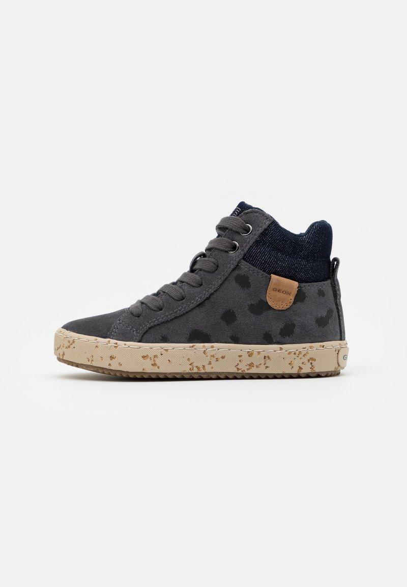 Geox - KALISPERA GIRL - Sneakersy wysokie - dark grey