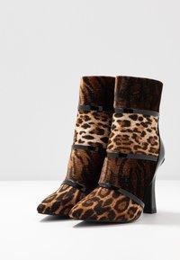 BEBO - LAVETA - High heeled ankle boots - black - 4