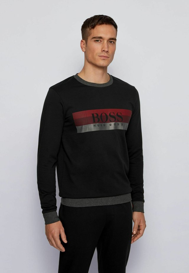 Nachtwäsche Shirt - black