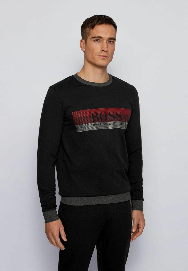 BOSS - Pyjamashirt - black
