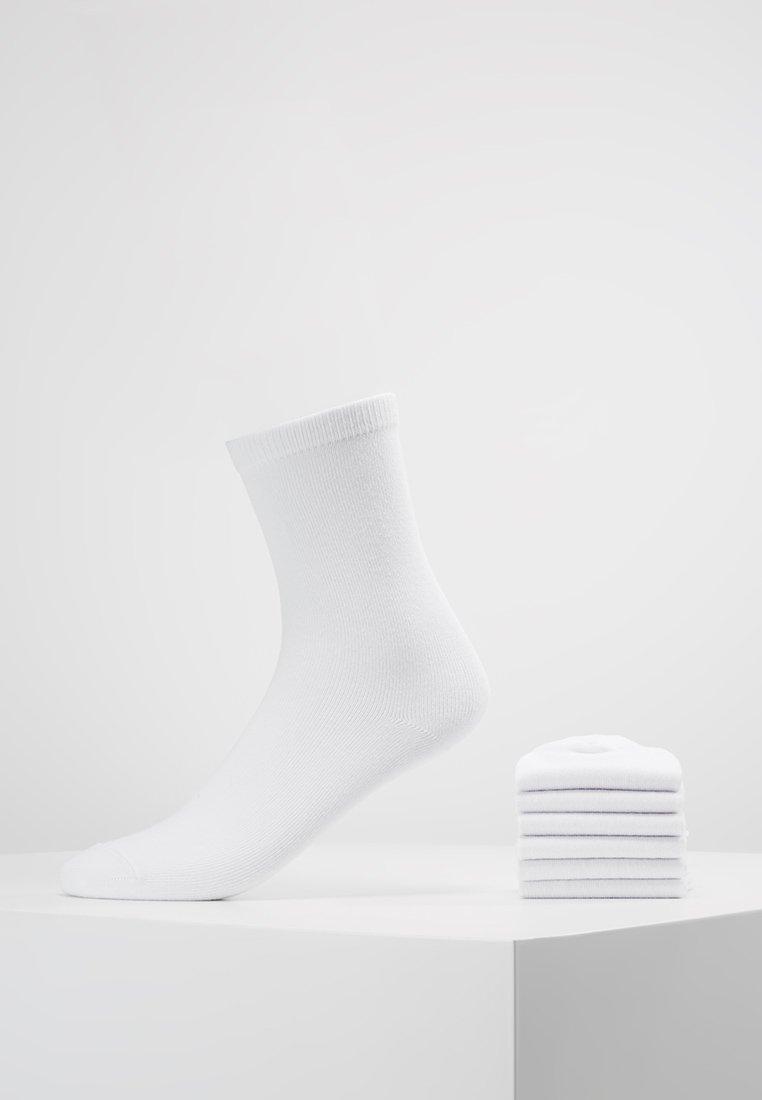 Anna Field - 7 PACK - Strumpor - white