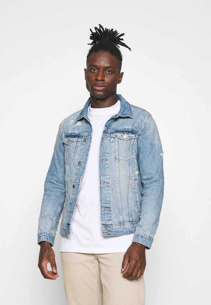 Jack & Jones - JJIJEAN JACKET - Spijkerjas - blue denim