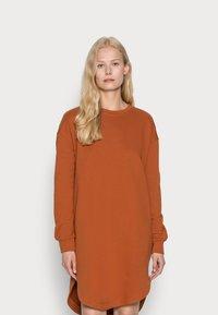 edc by Esprit - DRESS - Day dress - rust orange - 0