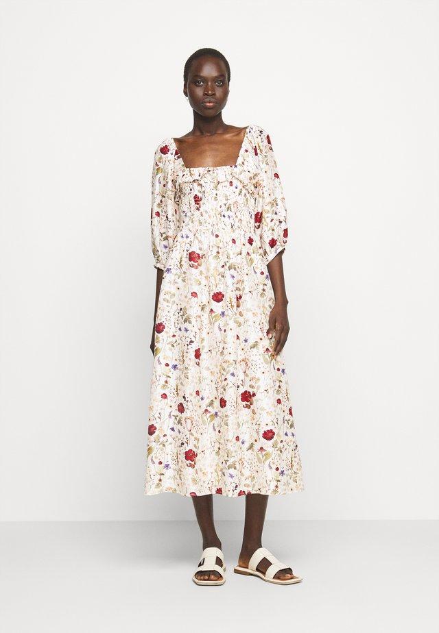MATILDA DRESS - Korte jurk - ivory