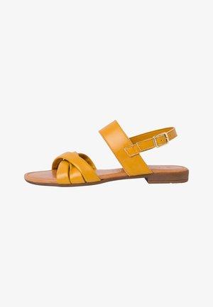 Sandály - saffron