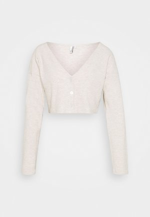 COZY CARDIGAN - Strickjacke - beige