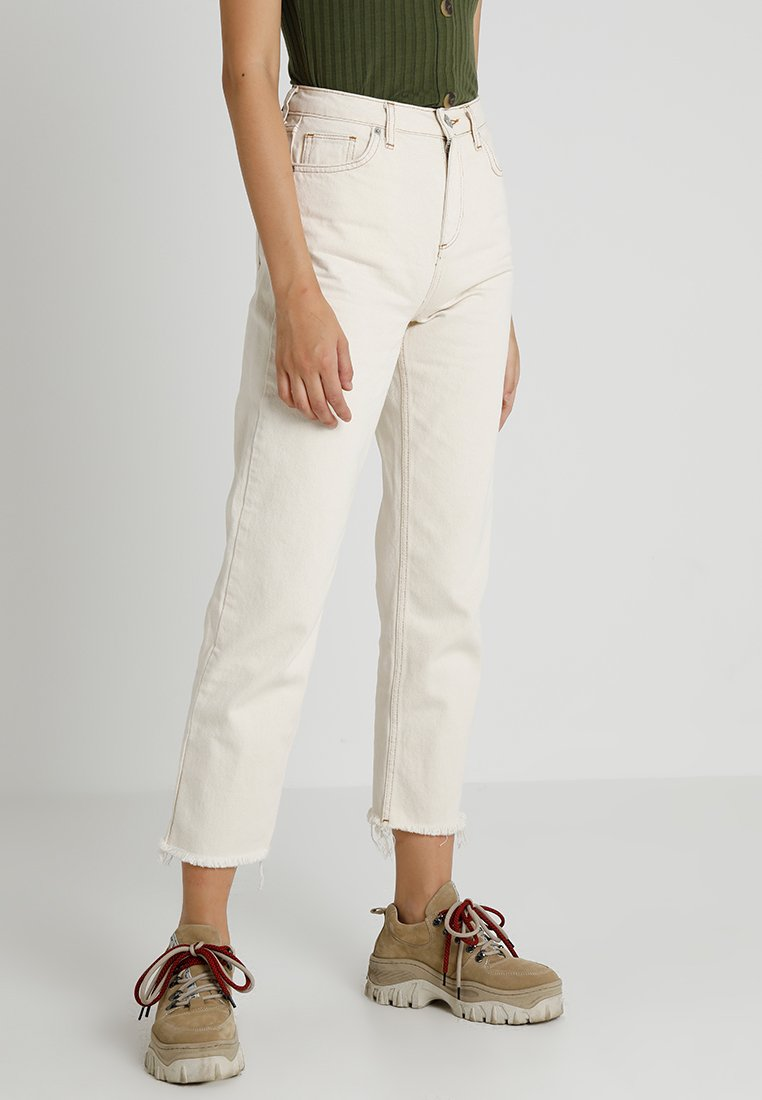 BDG Urban Outfitters - PAX - Džíny Straight Fit - ivory