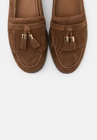 Anna Field Wide Fit - LEATHER - Nazouvací boty - brown - 5