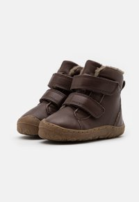 Froddo - MINNI WINTER SHOES SLIM FIT UNISEX - Dětské boty - dark brown - 1