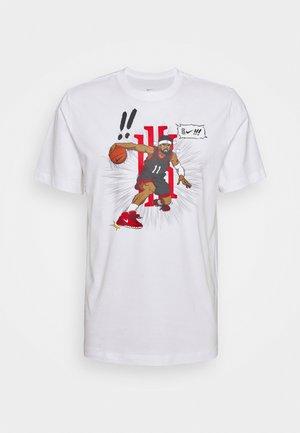 LOGO TEE - Camiseta estampada - white