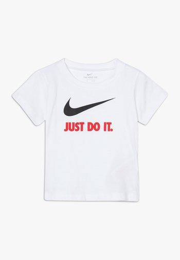 TEE BABY - Print T-shirt - white/red
