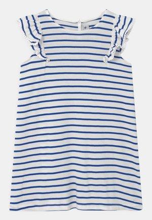 MELODY - Jerseykleid - dark blue/white