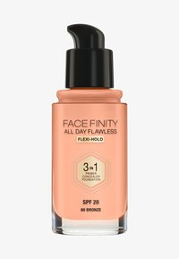 Max Factor - ALL DAY FLAWLESS 3 IN 1 FOUNDATION - Foundation - 80 bronze - 0