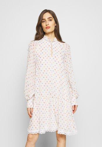 Day dress - multicolor/white