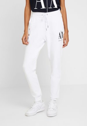 TROUSER - Spodnie treningowe - white